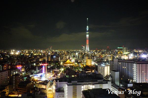 【東京飯店推薦】淺草豪景飯店 Asakusa View Hotel – 在房間就能看到最美的晴空塔美景、近淺草寺