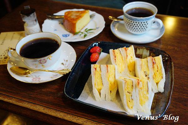 【太宰府咖啡館推薦】蘭館珈琲 – 自家焙煎咖啡、必點無敵好吃的超厚燒蛋三明治