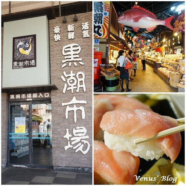 【日本和歌山】黑潮市場 大買海鮮、吃鮪魚握壽司、鮪魚解剖秀