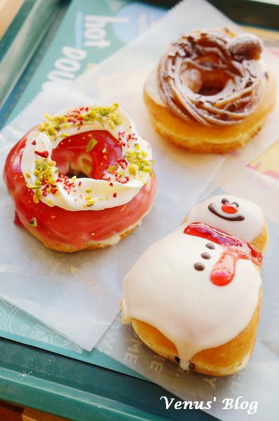 【大阪甜點推薦】Krispy Kreme Doughnuts 聖誕風甜甜圈 – 2012年聖誕節期間限定