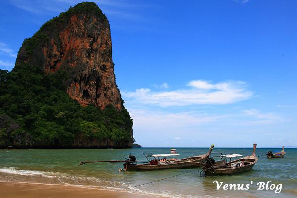 【泰國喀比】喀比出海遊(下)  Ao Nang 攀岩、鐘乳石洞、Rai Lay沙灘