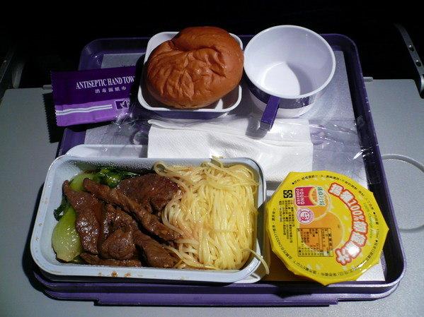 【飛機餐】台北→澳門 澳門航空飛機餐