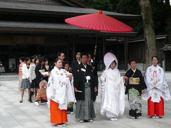 【日本東京】明治神宮日式婚禮