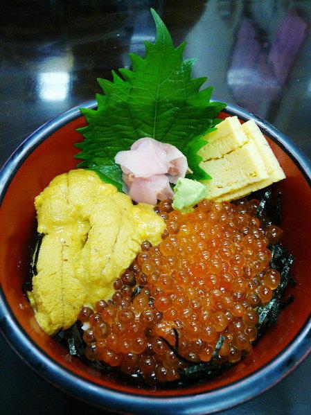 【日本東京】築地の海膽鮭魚卵丼