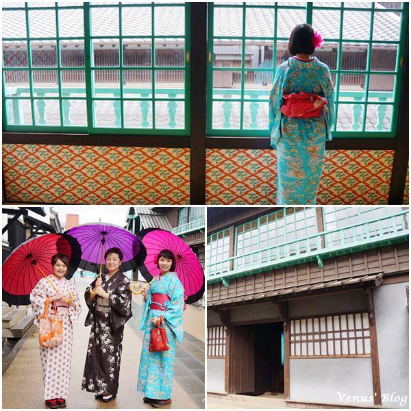 【日本長崎必玩】 出島和服體驗 ¥2000、10分鐘快速換裝