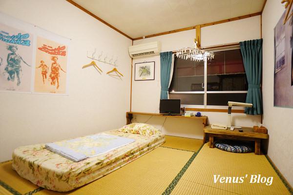 沖繩飯店-中部|赤道直家 – 平價民宿和式客房NT$1000、晚上猜可樂遊戲太有趣