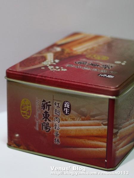 【試吃】新東陽養生紅麴肉鬆蛋捲