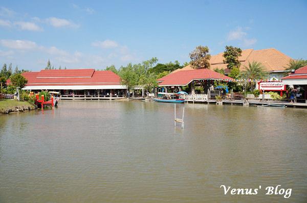 【泰國/華欣/景點】華欣的水上市場 Hua Hin Sam Phan Nam Floating Market、2011年新開幕