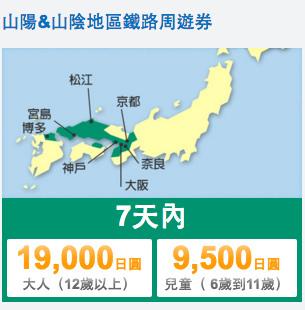 04JR西日本山陽山陰地區鐵路周遊券01