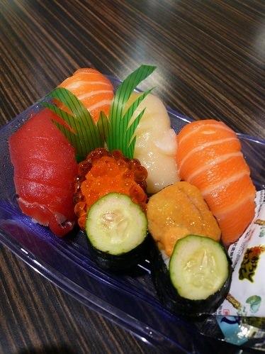 【台北】新光三越A4館超市外帶壽司