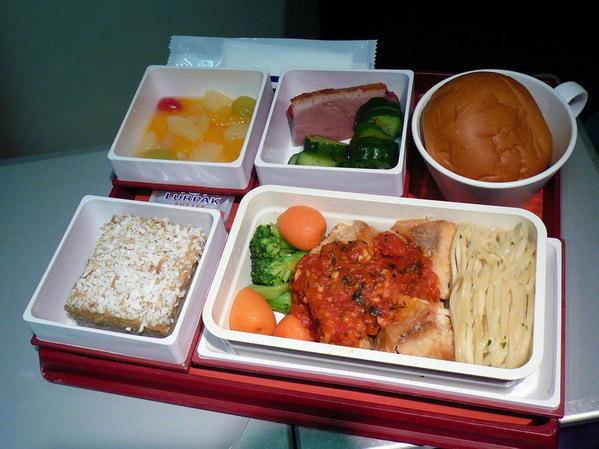 【飛機餐】台北→曼谷飛機餐