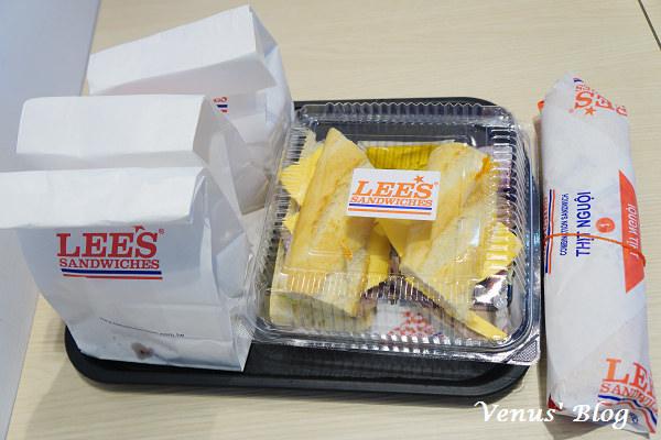 【台北車站美食】Lee's Sandwiches 全美最大連鎖法越三明治 @HOYII北車站