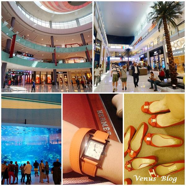 【杜拜敗家】The Dubai Mall 杜拜購物中心 – 杜拜最大購物中心、世界第六大購物中心 (附上精品的價格參考)