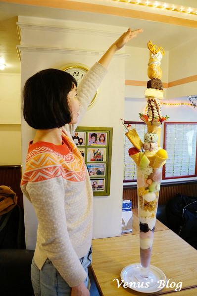 【日本長崎必吃】カフェ オリンピック – 120cm高冰淇淋等你來挑戰 (食尚玩家介紹)