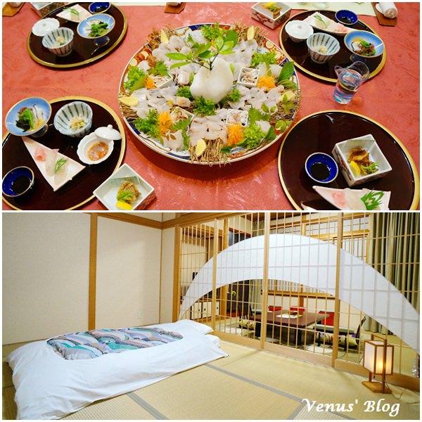 【日本平戶住宿推薦】彩月庵溫泉旅館 – 每個房間裡都有溫泉池、一泊二食、奢華的比目魚料理