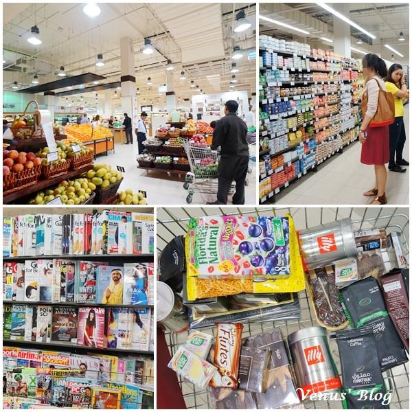 【杜拜敗家】The Dubai Mall 杜拜購物中心 逛超市篇 (附上杜拜食品&日用品物價參考)