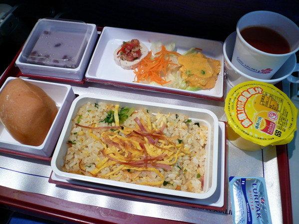 【飛機餐】台北→東京 華航飛機餐